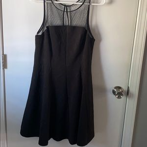 NWT Black Skater dress large